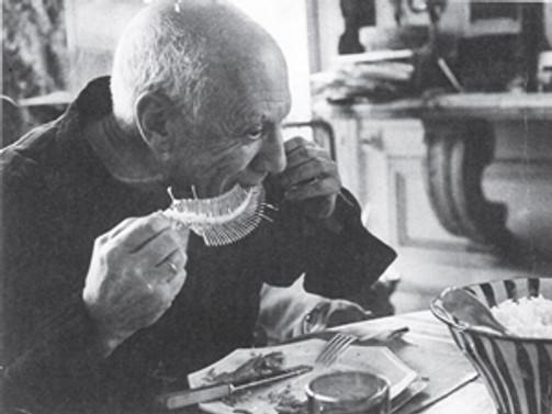 Pablo Picasso'nun sofrasına konukolmak ister misiniz?