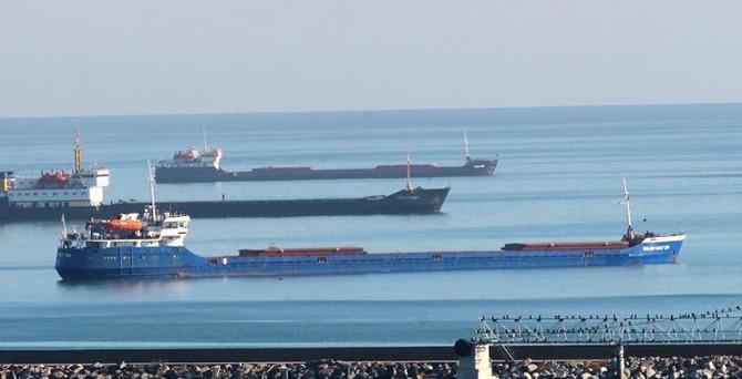 'Samsun Limanı'nda bekletilen gemi kalmadı'