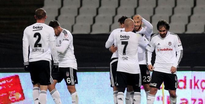 Beşiktaş kupada rahat kazandı