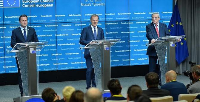 AB Liderler Zirvesi'nde gündem 'Suriye'