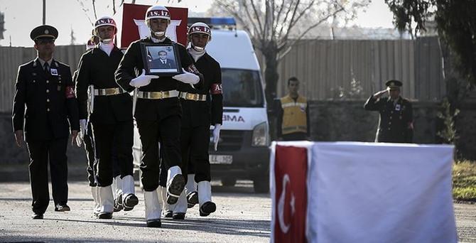 Şehit Jandarma Uzman Çavuş Yeniören için tören düzenlendi