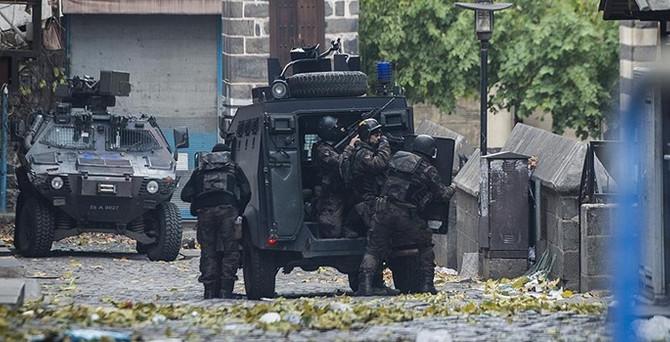Sur'da 23 günde 36 terörist etkisiz hale getirildi