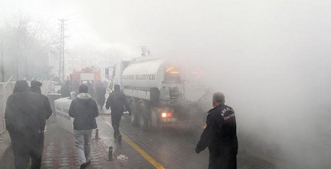 Ankara'daki yangının nedeni elektrik kontağı