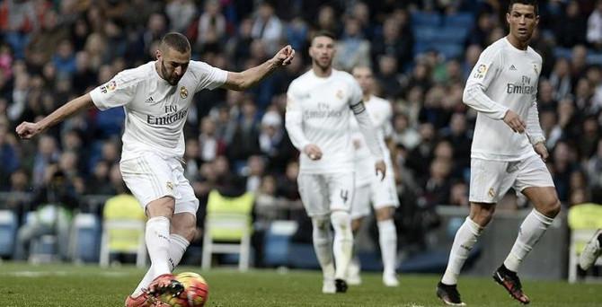 Real Madrid'den gol şov