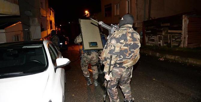 İstanbul Beykoz'da terör operasyonu