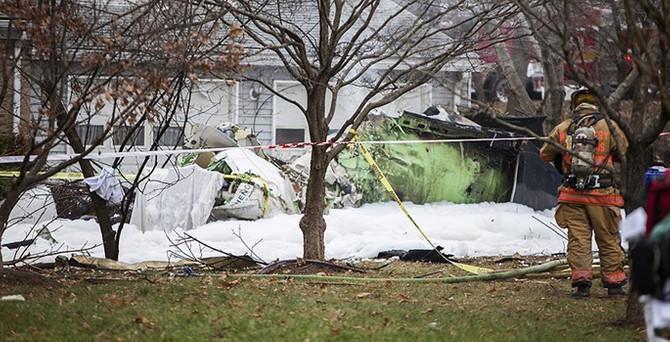 California'da uçak kazası: 5 ölü
