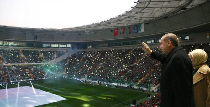 'Bursa şanına yakışır stadyuma sahip oldu'