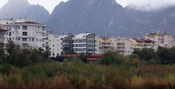 Konut fiyatı en fazla Antalya'da arttı