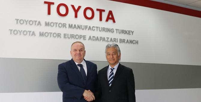 Toyota Türkiye'de bayrak değişimi