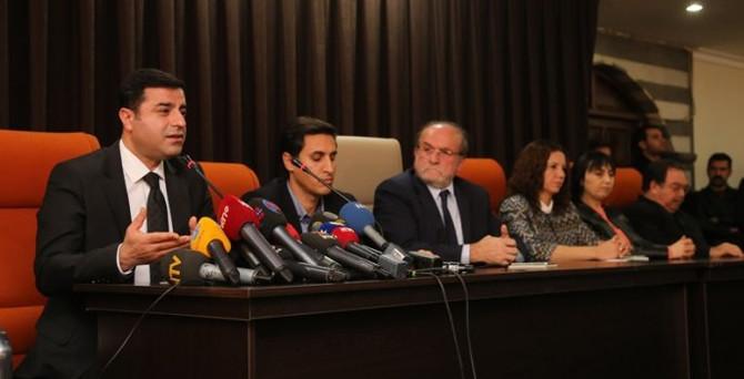 Diyarbakır'daki basın açıklamasına soruşturma