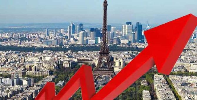 Fransa yüzde 0,3 büyüdü