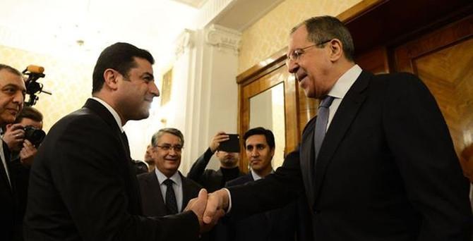Demirtaş, Lavrov ile görüştü