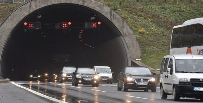 Bolu Dağı Tüneli'nde çalışma uzatıldı