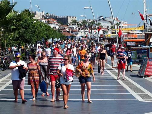 Global turist sayısı rekor kırdı