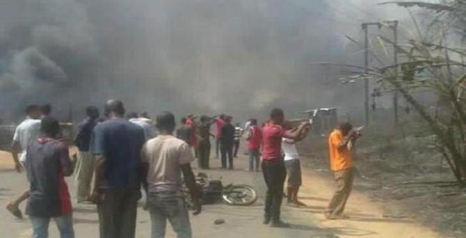 Gaz tesisinde facia:En az 100 ölü