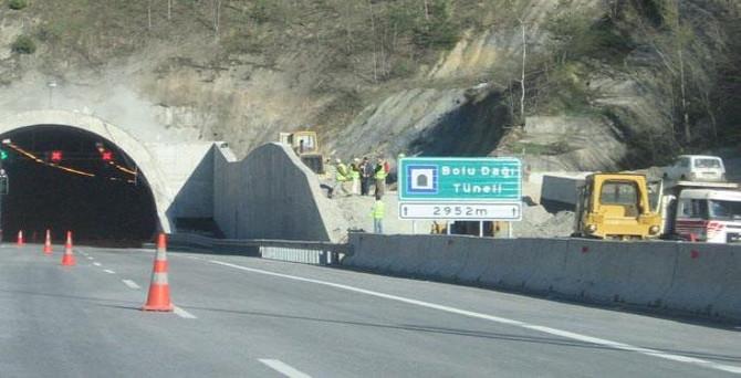 Bolu Dağı Tüneli'ndeki çalışma tamamlandı