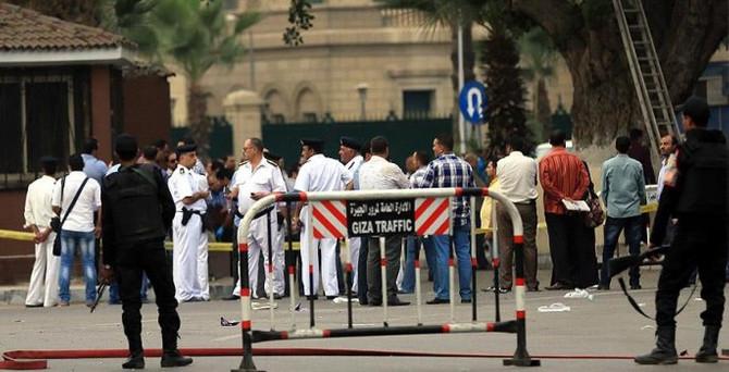 Mısır'da patlama: 1 ölü, 14 yaralı