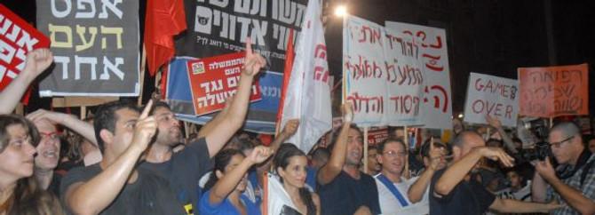Arap Baharı İsrail'e sıçradı