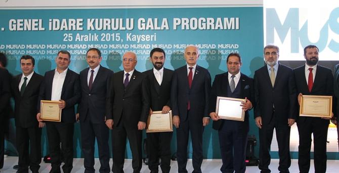 91.MÜSİAD Genel İdare Kurulu Gala Programı Kayseri'de yapıldı