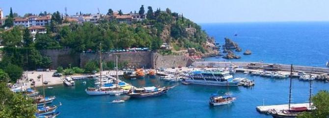 Antalya'da yazdan kalma bir gün