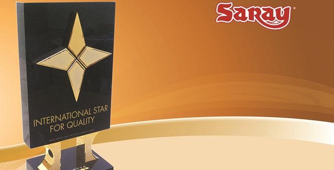 Saray Bisküvi kalitesine uluslararası ödül