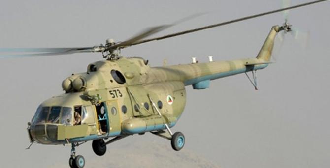 Venezuela helikopteri Kolombiya'da düştü