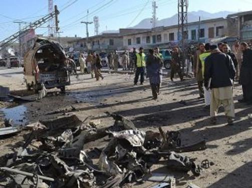 Pakistan'da intihar saldırısı: 18 ölü