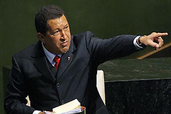 Chavez İspanya'da