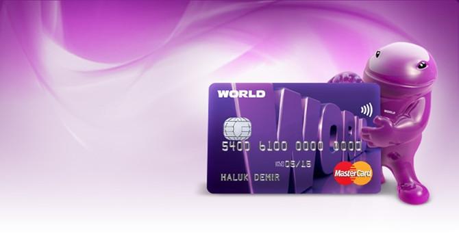 Yapı Kredi Worldcard, birinci seçildi
