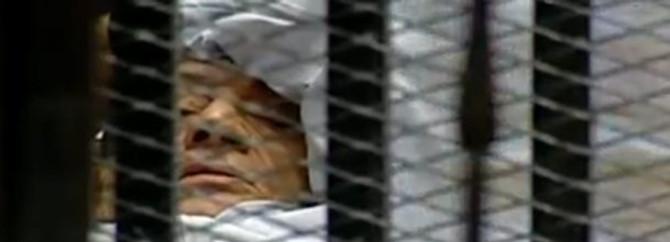 Mübarek askeri hastaneye nakledildi