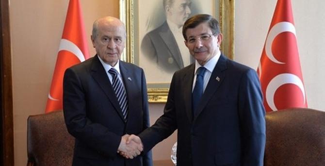 Başbakan ile Bahçeli görüştü