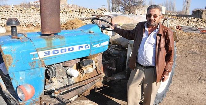 Traktöre HGS ihlalinden 6 bin 652 lira ceza