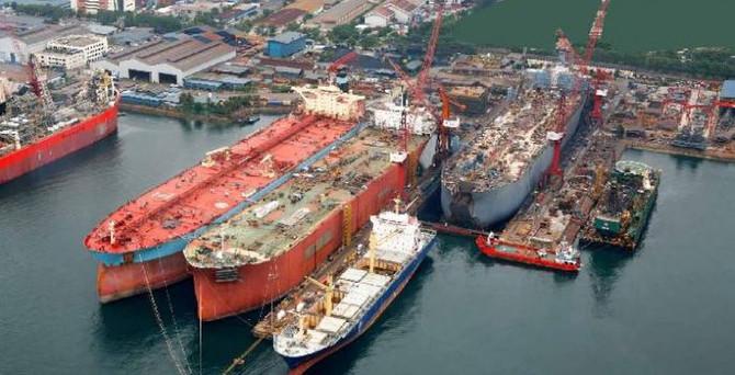 Gemi inşada ihracat dip yaptı sektör çıkışı 'barter'da arıyor