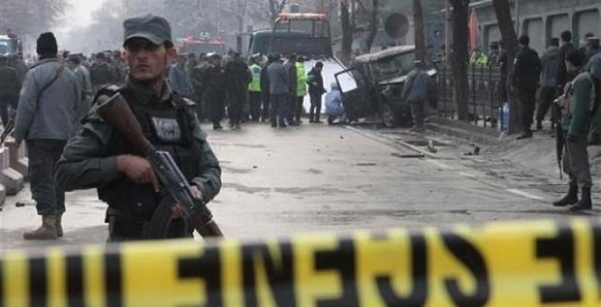Afganistan'da, Hindistan Başkonsolosluğuna saldırı