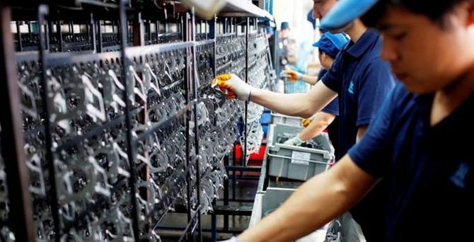 Çin'de PMI beklentilerin altında