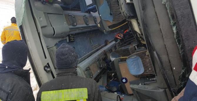Kırşehir'de kaza: 7 ölü, 27 yaralı