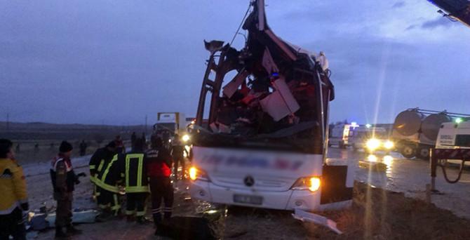 Konya'da trafik kazası: 6 ölü