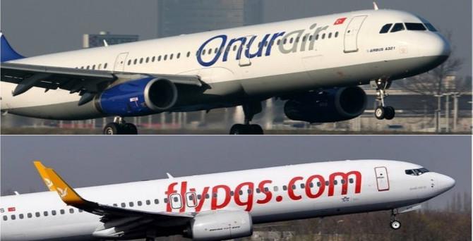 Pegasus ile Onur Air, Rusya uçuşlarını durdurdu