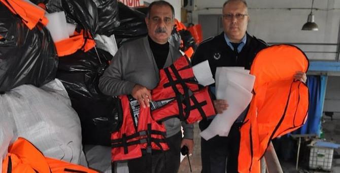 İzmir'de 'can yeleği' operasyonu
