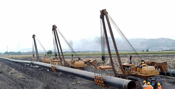 Kerkük-Türkiye doğalgaz boru hattının inşası başladı