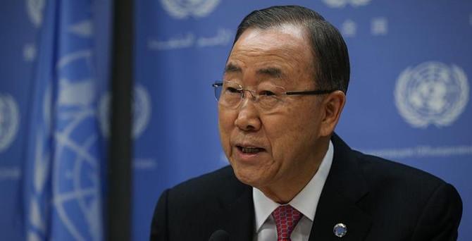 Ban Ki-mun'dan Kuzey Kore'ye kınama