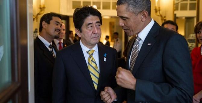 Obama'dan Abe'ye Kuzey Kore güvencesi