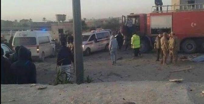 Libya'da intihar saldırısı: 65 ölü