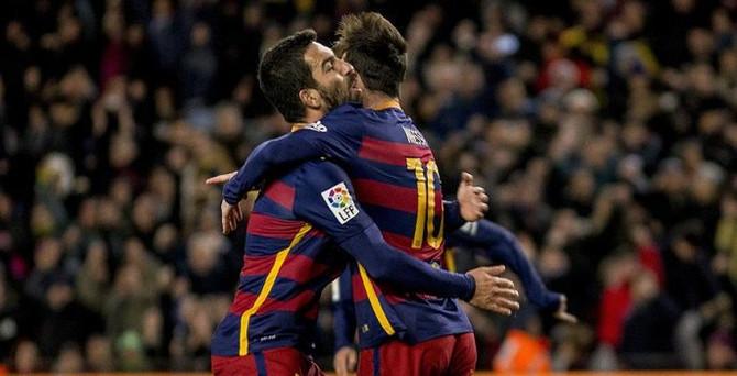 Arda'dan Messi'ye harika asist