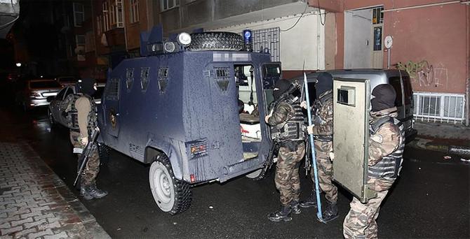 İstanbul'da IŞİD operasyonu: 10 gözaltı