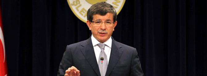 Davutoğlu, Suriyeli muhaliflerle görüştü