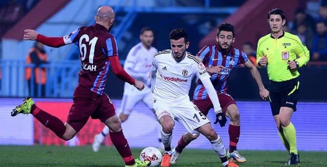 Beşiktaş Trabzon'da puan bıraktı