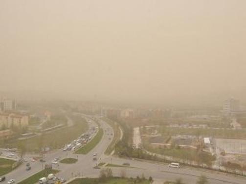 Ankara'da 'fırtına' uyarısı