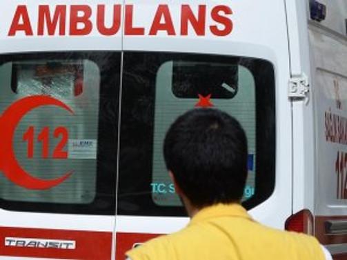 Mardin'de teröristler ambulans kaçırdı