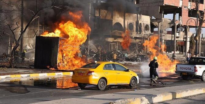 Irak'ta 4 bombalı saldırı: 43 ölü